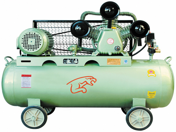 Belt-Driven Air Compressor (W-0.67/8)