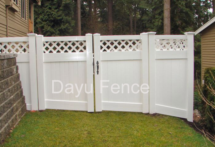 How to build a Fence Gate - Landscape Design - Landscaping Information