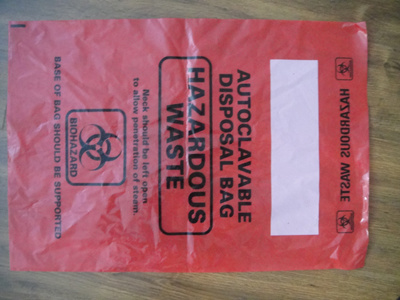 Autoclavable Biohazard Waste Bag