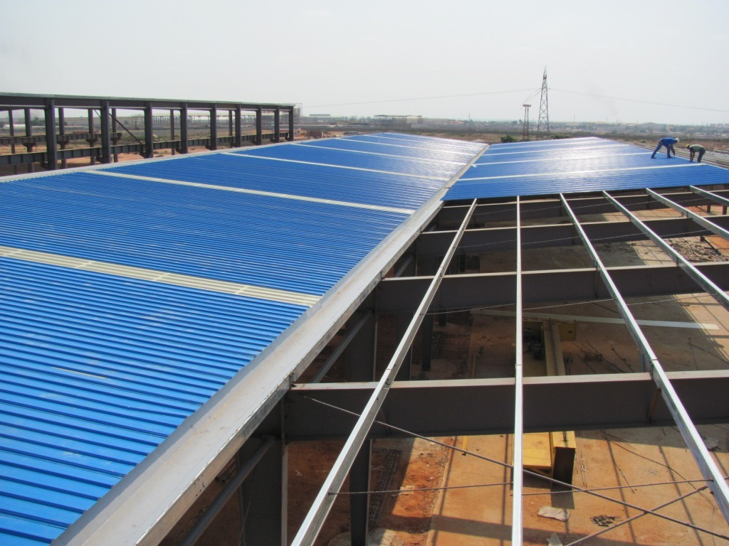 Design Prefabricated Steel Structure Warehouse (DG1-036)