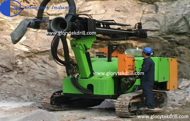 18m Depth Crawler Type Rock Drilling Machine