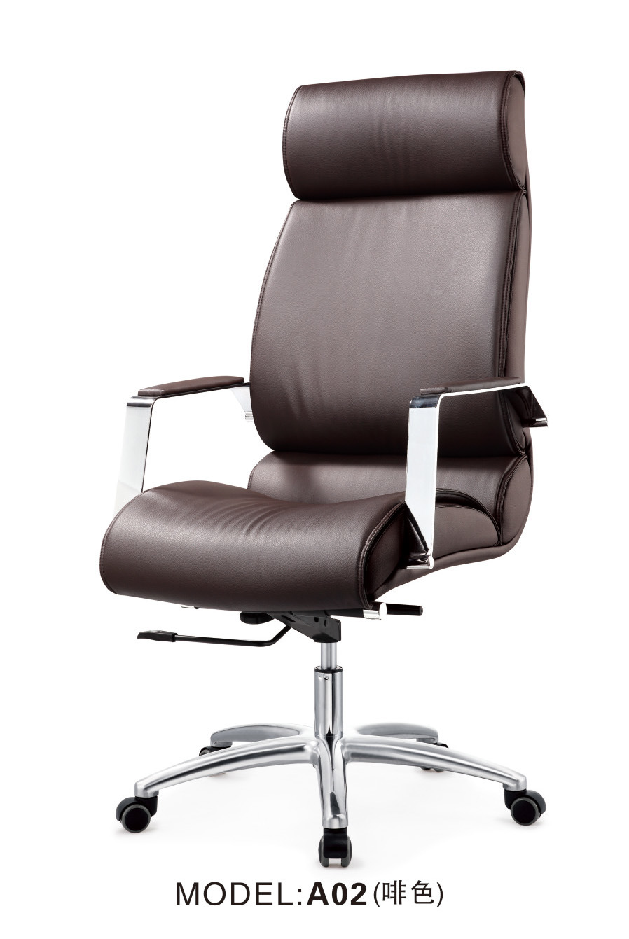 Office PU Boss Chair with High Back