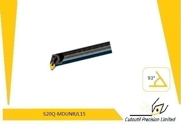 Lathe Internal Turning Tool S25r-Mdunr/L1504 for Boring Bar