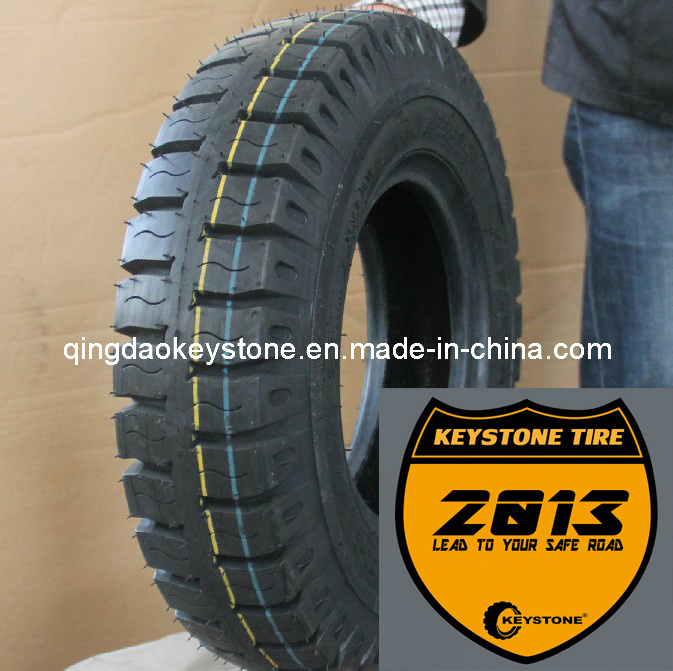 Tricycle Tyre 4.00-8 with New Keystone Pattern