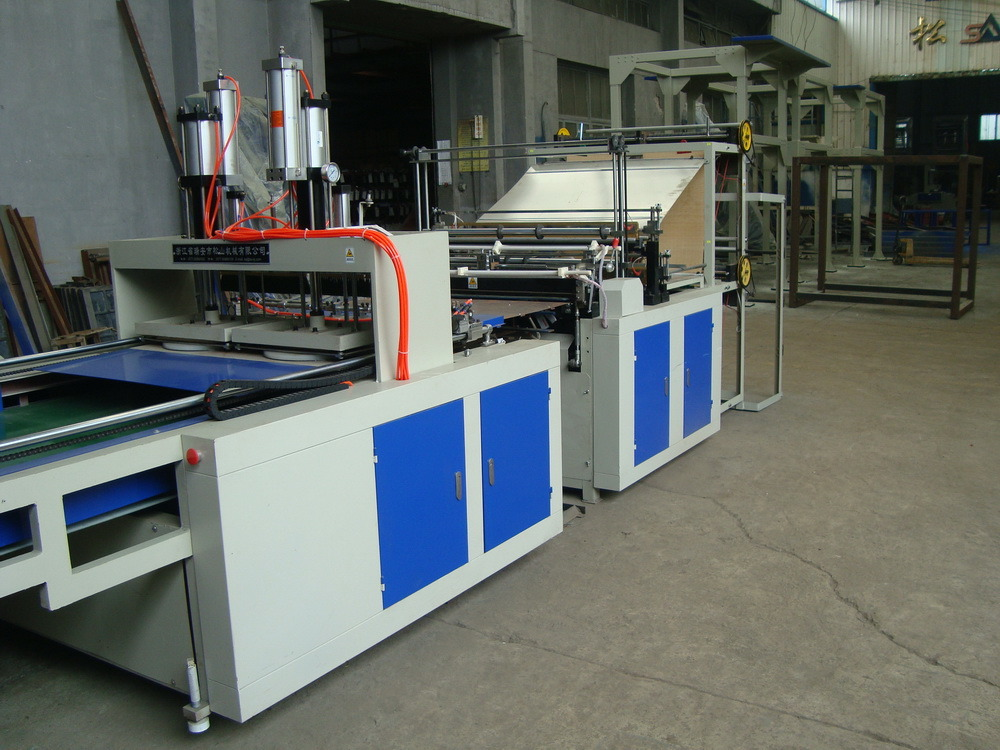 Double Layer Four Lines Bag Making Machine
