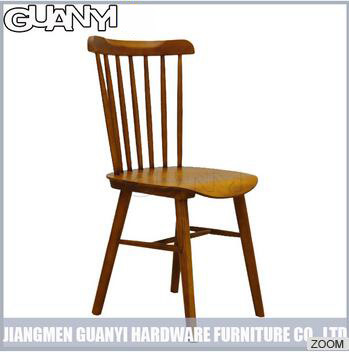 Ash Solid Wood Colorful Windsor Dining Chair