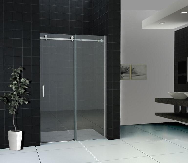 8mm Tempered Glass Sliding Bath Shower Screen with Nano Coating