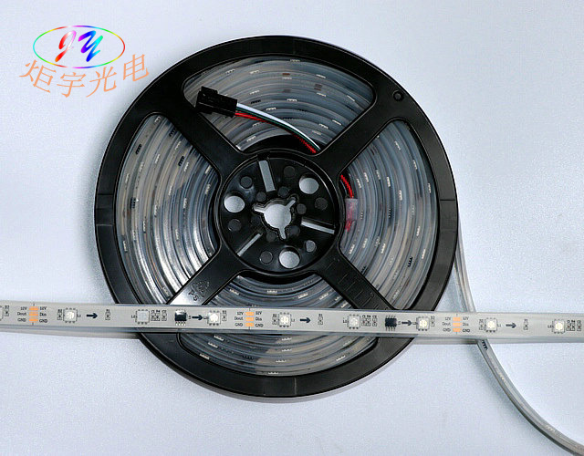 IP68 Waterproof Silicon Tube Fill with Epoxy RGB LED Strip
