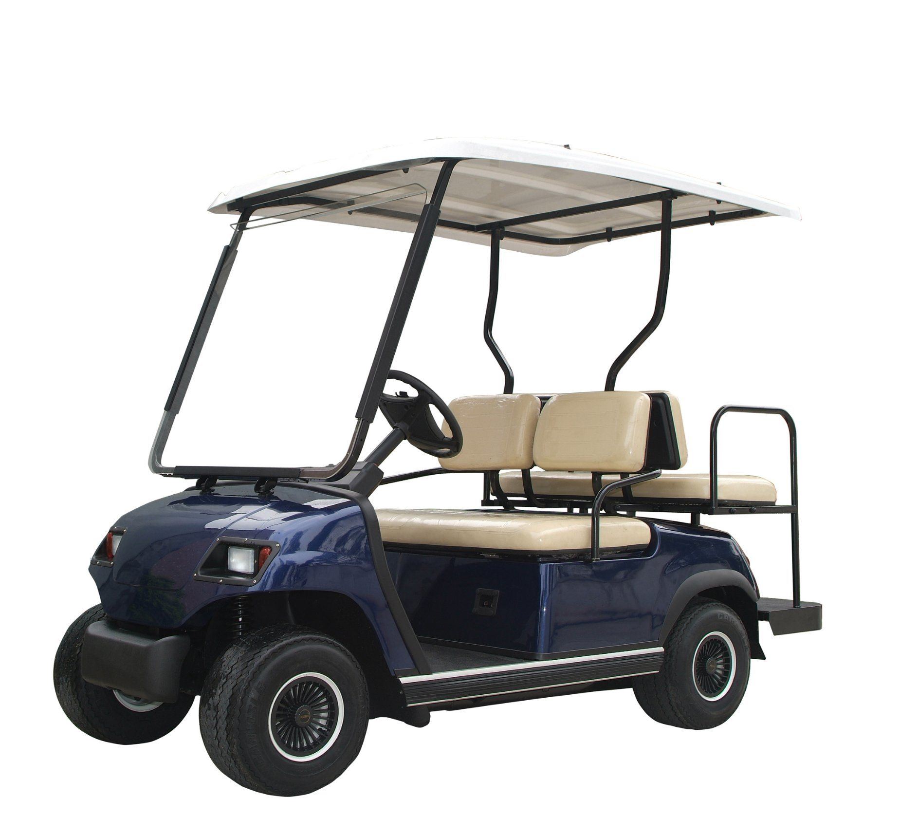 Hot! EEC-Approved 4 Seaters Electric Golf Car