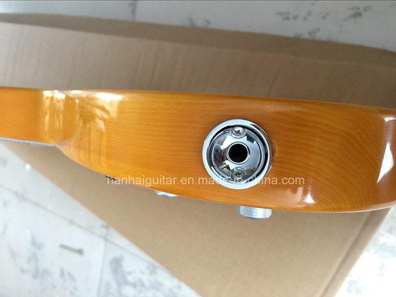 Hanhai Music / Sale Price Yellow Tele Style Electric Guitar