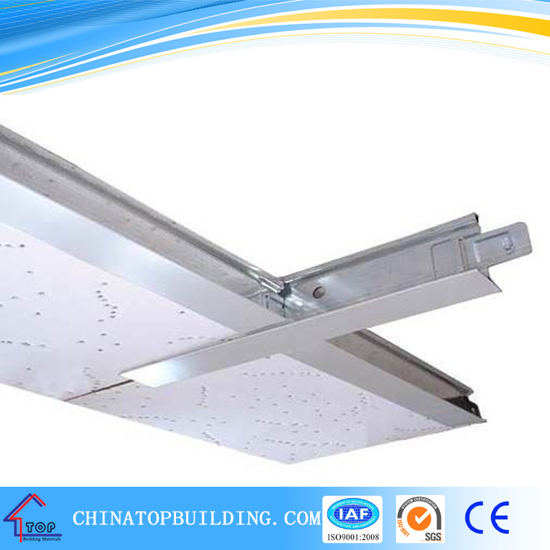 Groove Ceiling T Grid for Gypsum Ceiling Tile