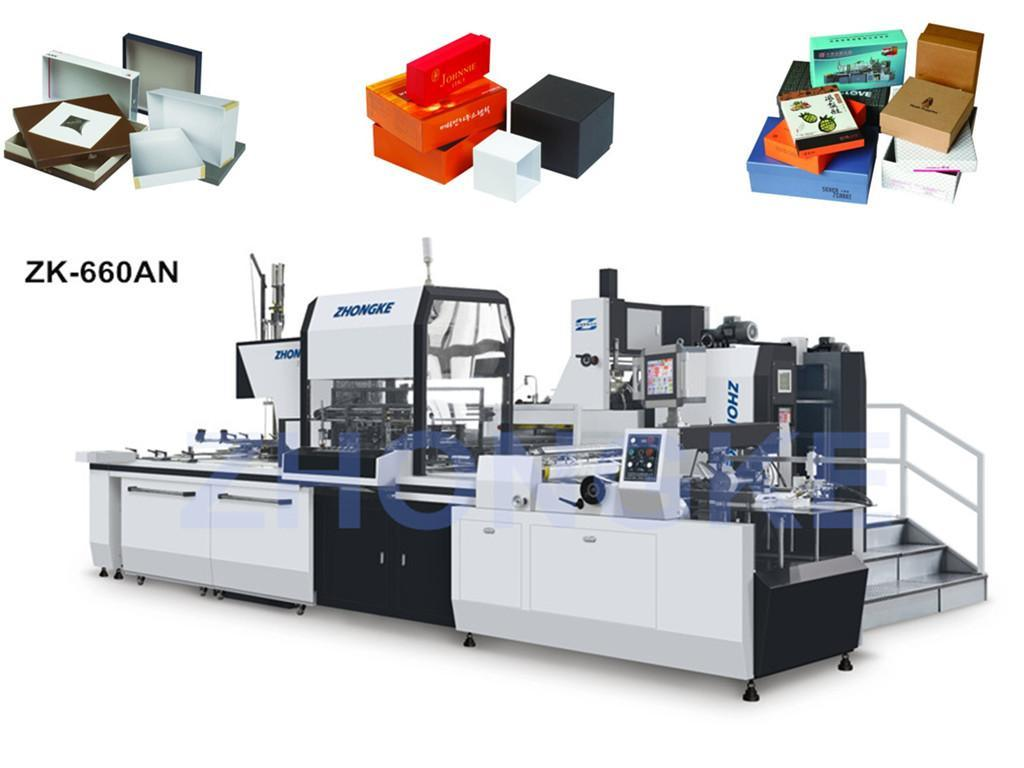 Rigid Box Machinery (Passed CE) (ZK-660AN)