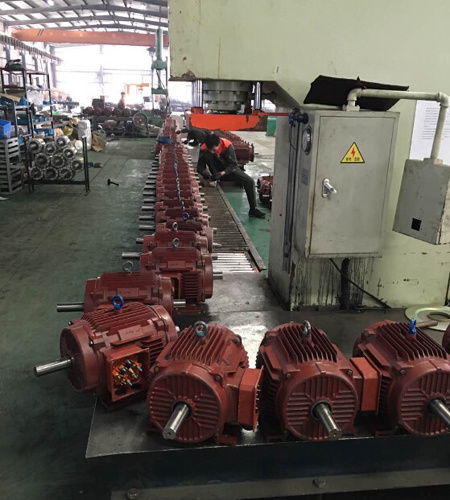 High-Quality Explosion-Proof Three Phse Electric AC Motor (EX de II CT4) for Crane