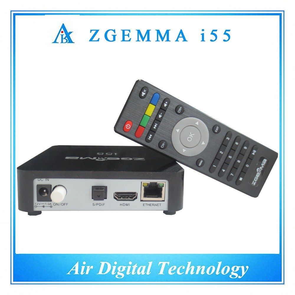 Full Channels Media IPTV Box Zgemma I55 High CPU Linux OS Enigma2 WiFi Middleware Stalker Player