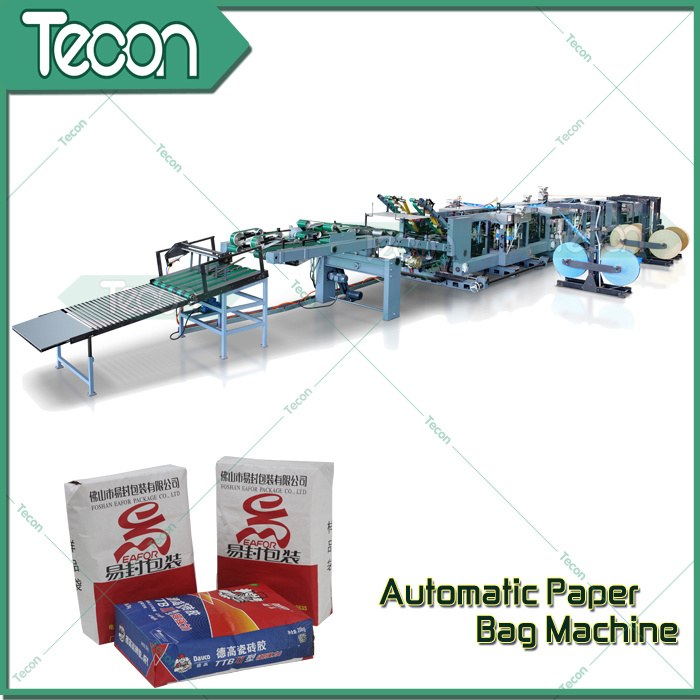 Automatic Multi-Wall Valve Paper Sack Tube Froming Machine