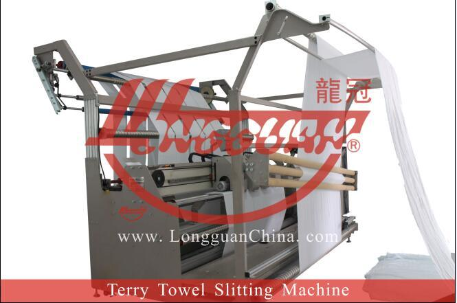 Automatic Terry Towel Slitting Machine