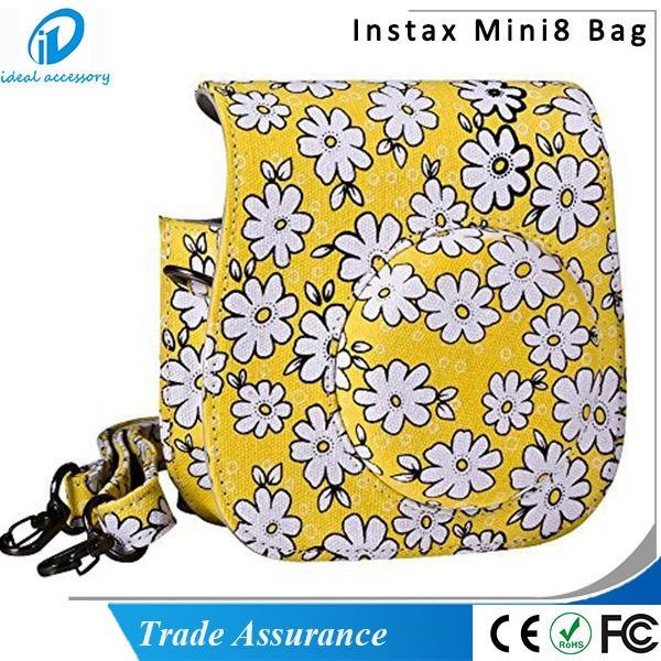 Chrysanthemum Style Pink Blue Yellow Flower Mini8 Plus Camera Case