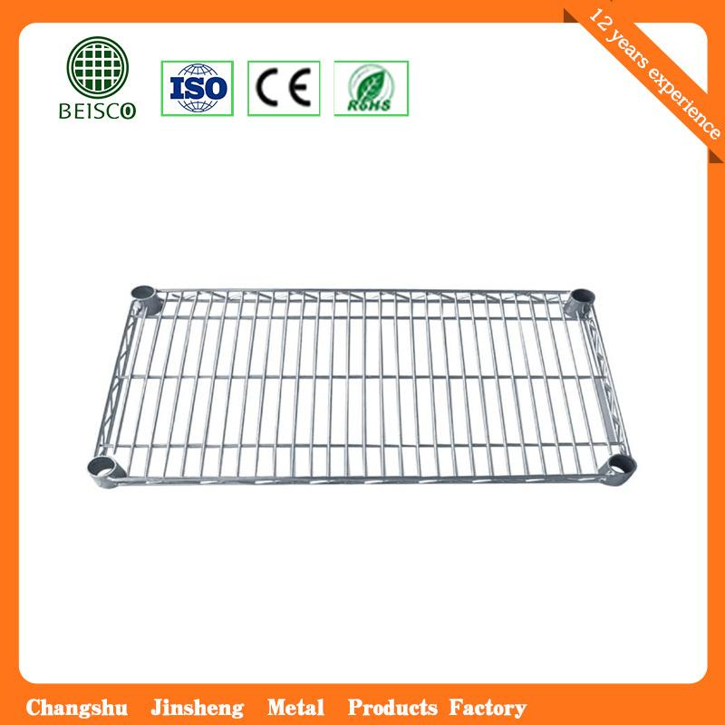 """4 Tiers 14""""X36"""" Chrome Plated Storage Wire Shelf"""