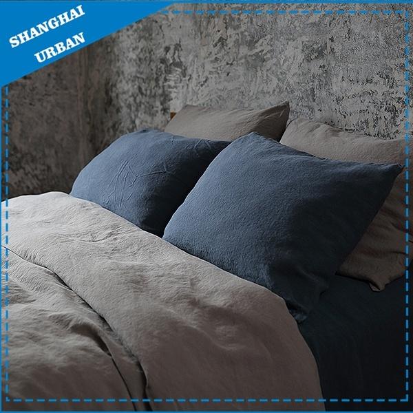 Natural Flax Linen Duvet Cover Bedding