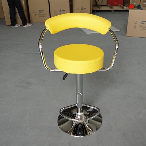 Home Leisure Leather Furniture Wishbone Kitchen Bar Stool Chair (FS-B308)