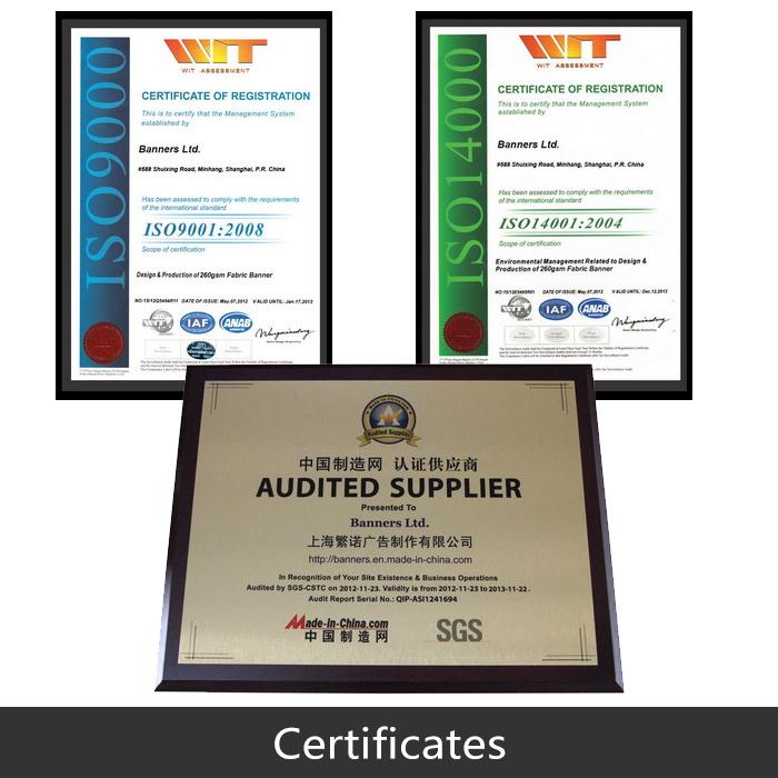 Custom Design Printing PVC Adhesive Sticker Vinyl (BL-TFB80)