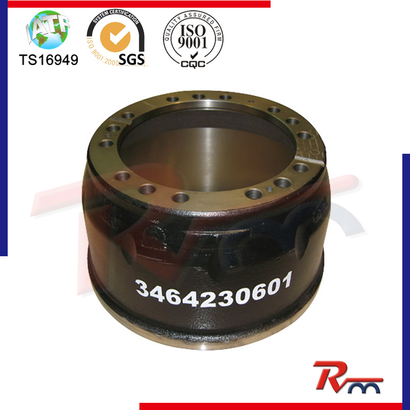 Brake Drum for Mecerdez Benz Truck Trailer and Heavy Duty