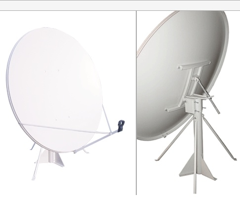 Ku-Band Satellite Dish 120cm with SGS