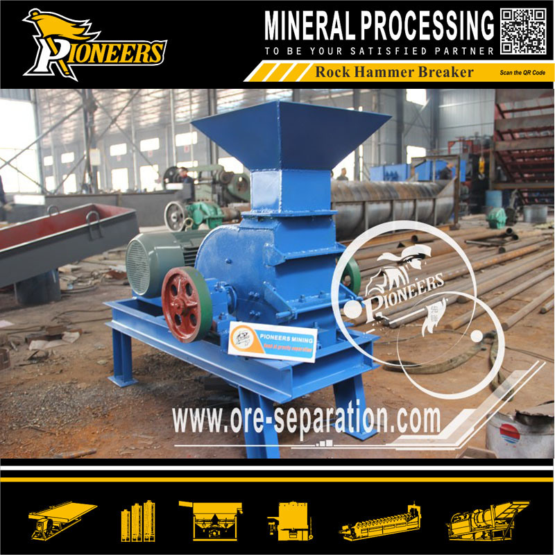 Mining Hitting Rock Hammer Crushing Machinery Diesel Sand Ore Breaker