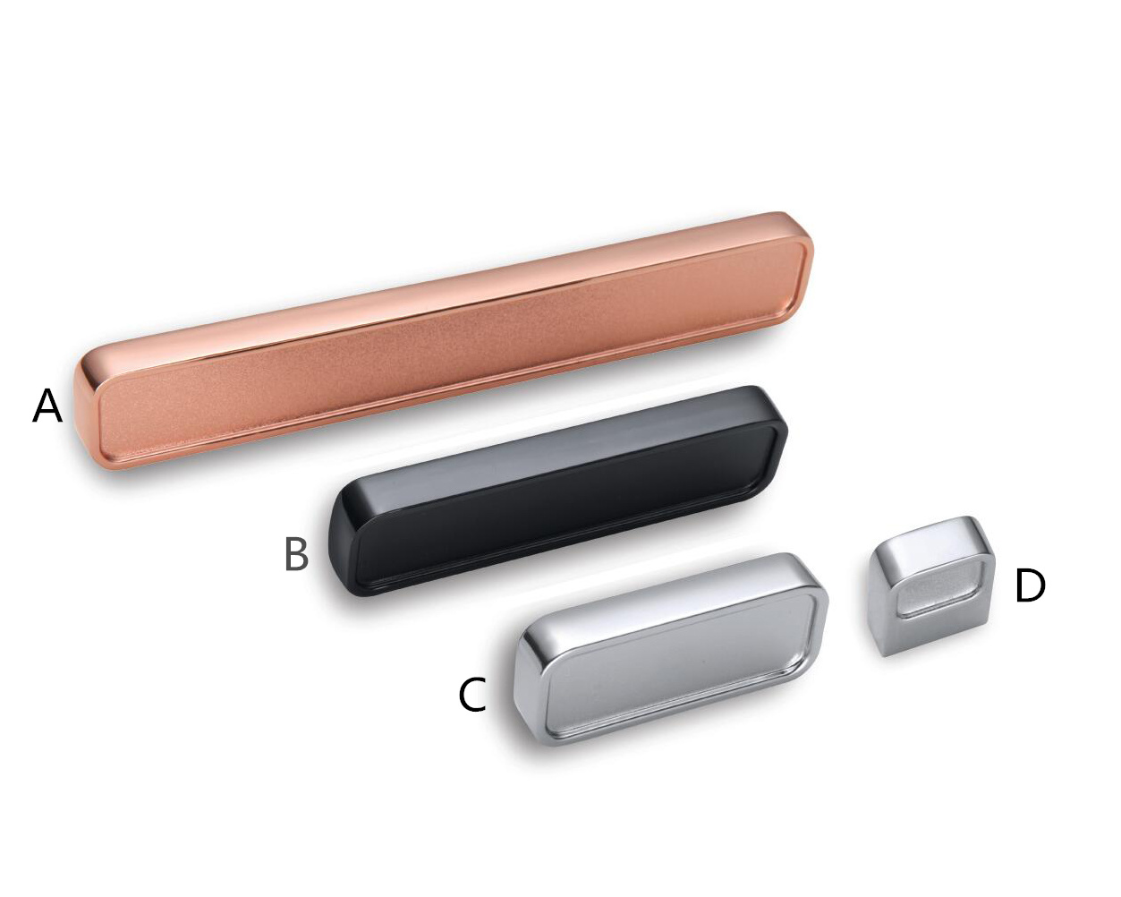 Cabinet Handle Door Handle, Zinc Alloy Pull, Furniture Hardware, Ah-1030