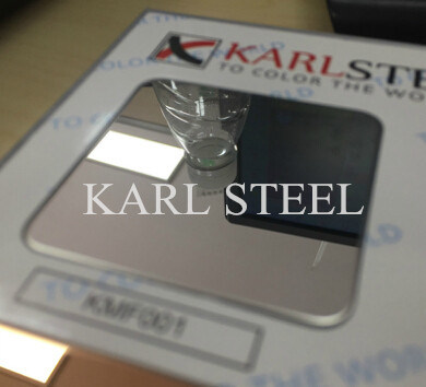 Stainless Steel 410 Cold Rolled Sheet with Ba Finish
