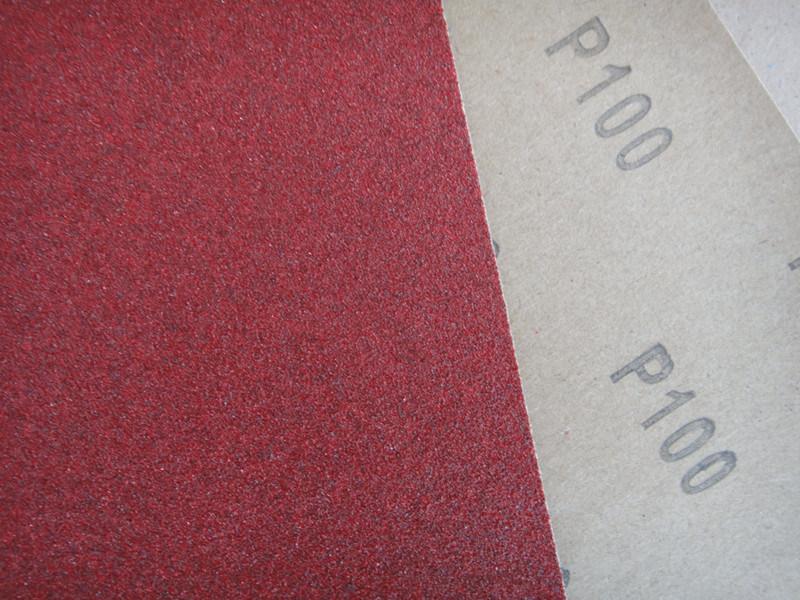Aluminum Oxide C-Wt Craft Paper Red Massa Abrasive Paper FM03