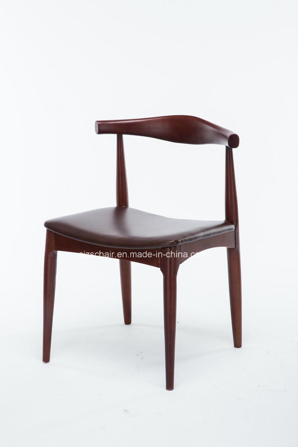 Modern Solid Wood Restaurant Ox Horn Chair/Wood Restaurant Chair Ox Chair Zs-T-N01