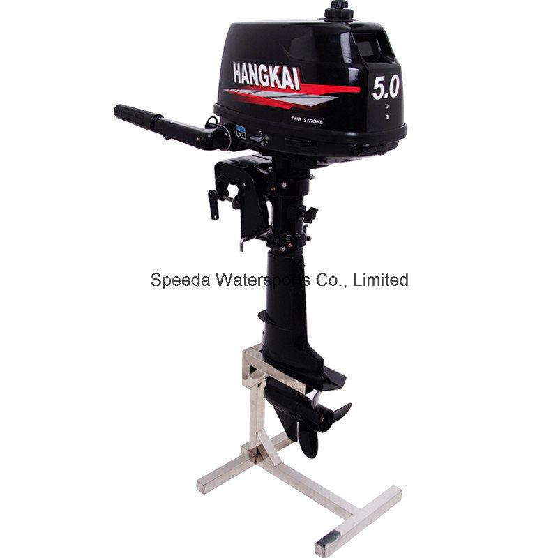 Chinese 5HP 2 Stroke Water Cooling Outboard Motor for Inflatable Boat