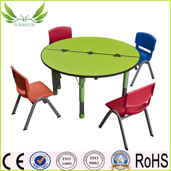 Children Furniture Colorful School Kidstable and Chair (KF-05)