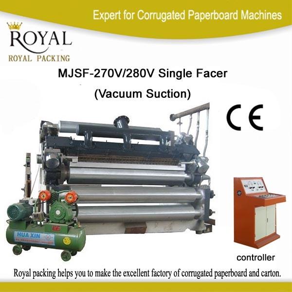 Corrugated Machine Fingerless Vacuum Single Facer for Carton Box
