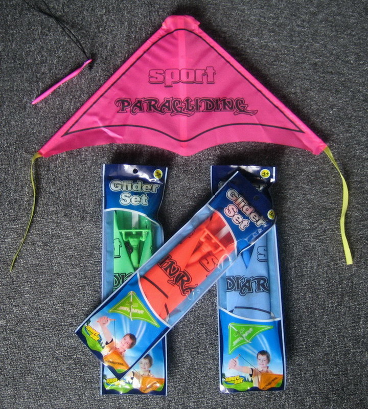 Nylon Promotional Parachuter Glider Kites (PM240)