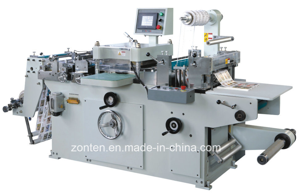 Automatic Die Cutting and Hot Stamping Machine (MQ320)