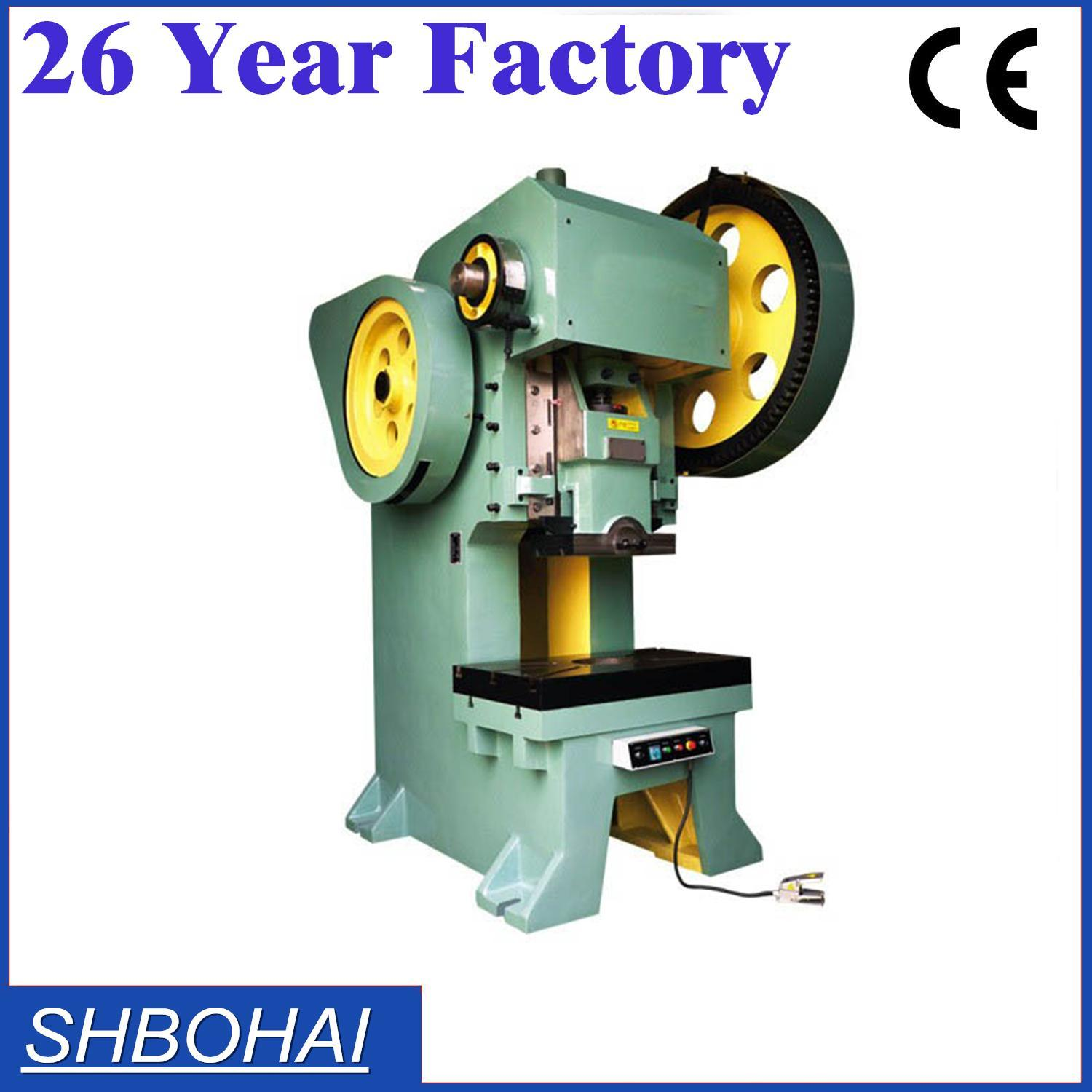 Bohai Brand Popular Sold 10ton 16t 25ton Power Press Punching Machine