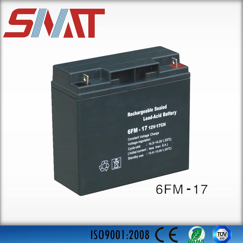 17ah Lead-Acid Battery for Solar Power System