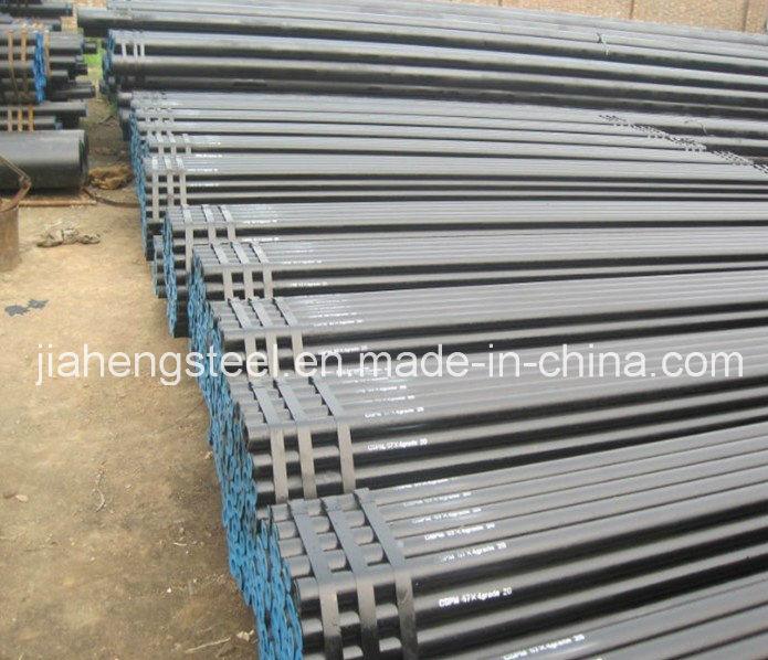 Black ASTM A106 Gr. B Sch40 Seamless Steel Pipe