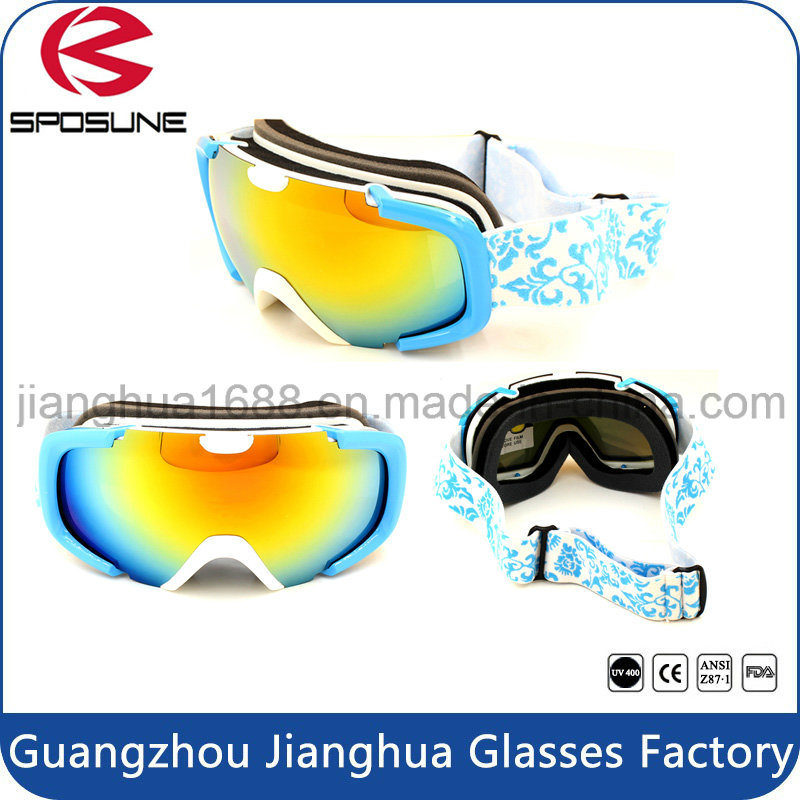 Hot Sale New Design Cool Outdoor Winter Sports Protective Polarized Lens Motorcycle Safety Eyewear Ski Snowboard Goggles