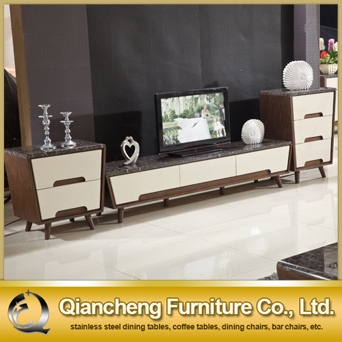 Hot Sale TV Cabinet with MDF Drawer for Home (8627#)