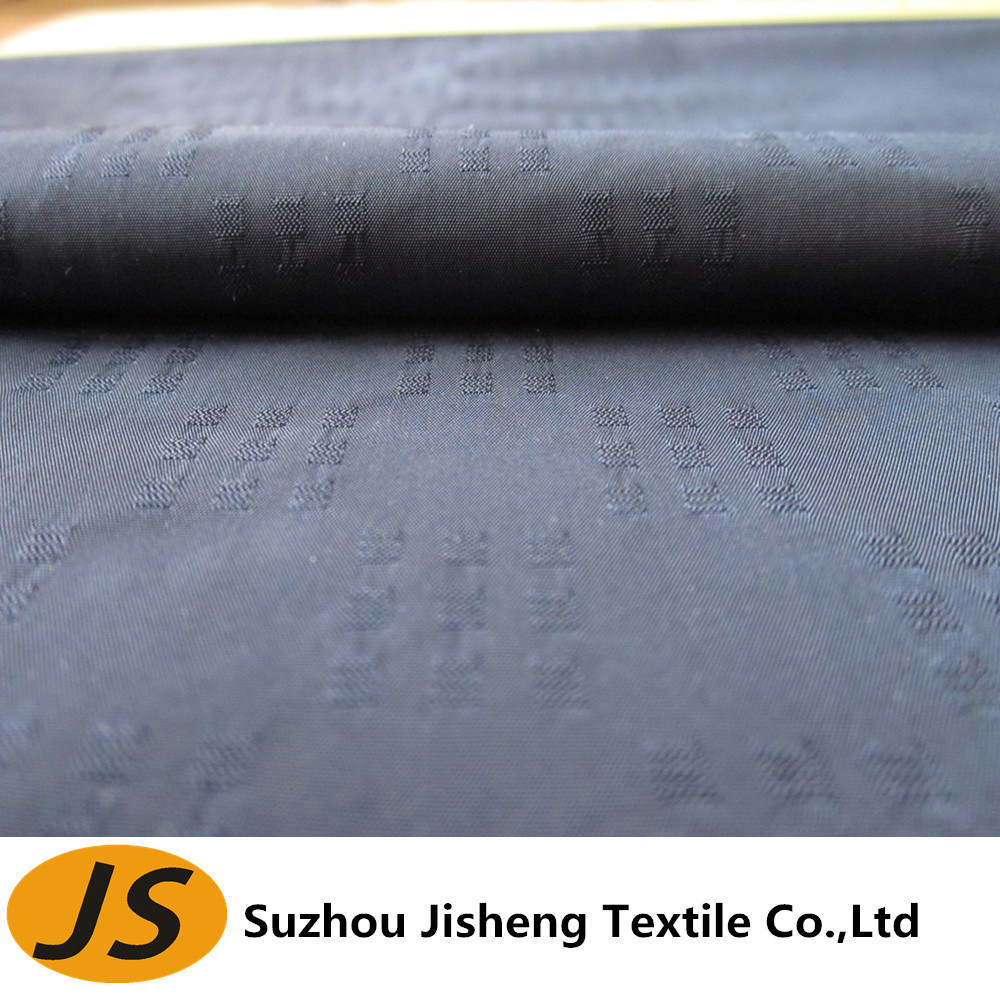 75D Waterproof Jacquard Polyester Memory Fabric
