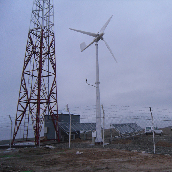 China Professional Designed Plan for Mobile Bts Station with Pitch Controlled Wind Turbine and Solar Module