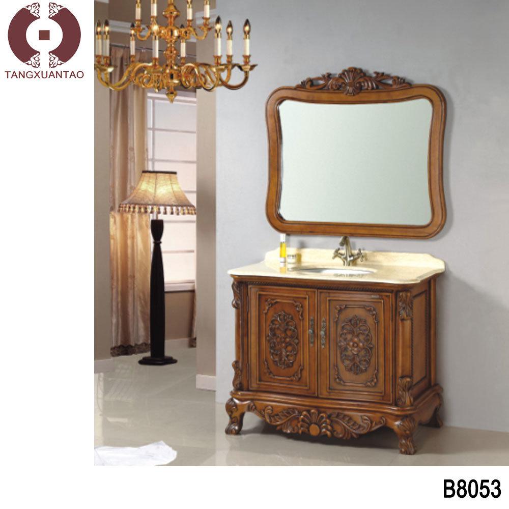 Hot Solid Wood Cabinet Bathroom C2017