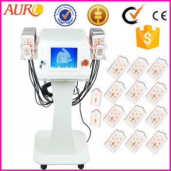 Vertical Lipo Laser Body Weight Loss Equipment for Salon Use