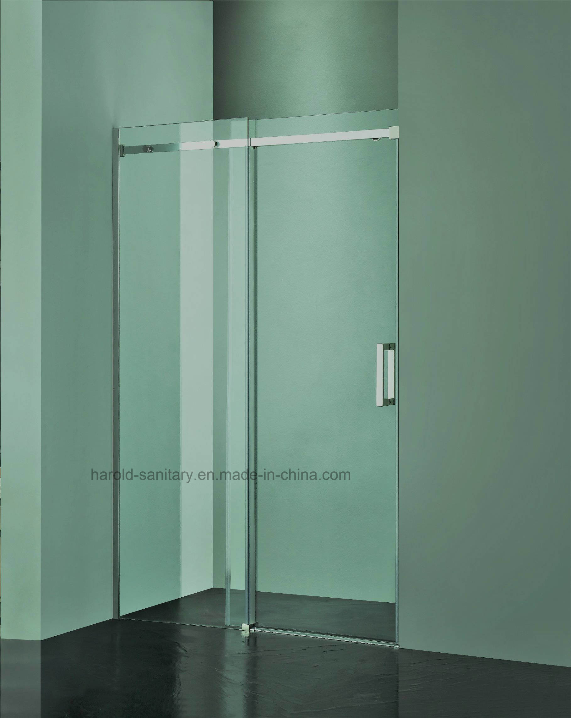 Hr-04 Frameless Single Sliding Shower Enclosure