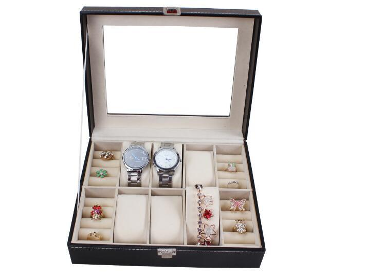 Watch Box Glass Box Jewelry Box Leather Box for Storage and Display