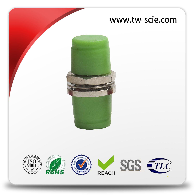 FC Metal Singlemode / Multimode Fiber Optic Cable Adapter for Equipment Test