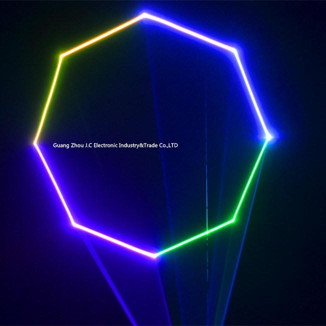 4W RGB Animation Laser Lighting for Stage Wedding Club